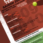 FEUILLET D'INSCRIPTION 4 - TENNIS