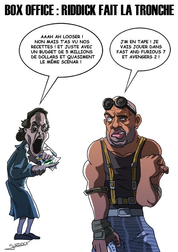 Riddick fait la tronche 3