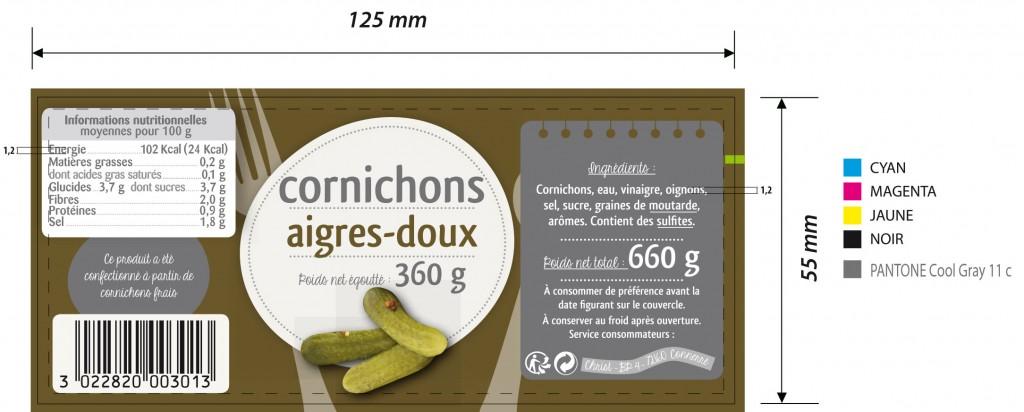 CORNICHONS 3013